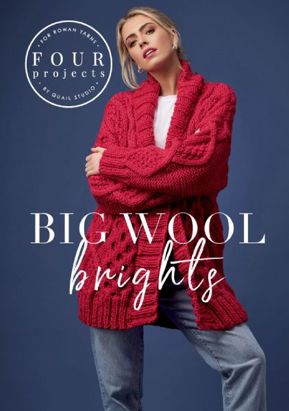 Rowan 4 Projects Big Wool Brights